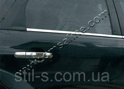 Окантовка стекла наружная Ford Focus 2 HB (2005-2012)