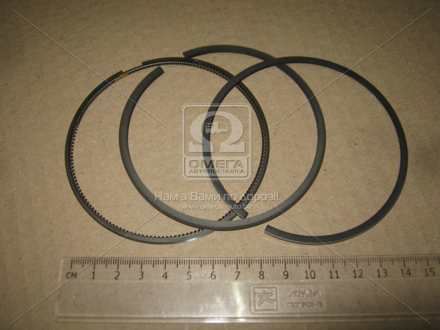 Кільця поршневі MB 90.40 (1.5/1.75/3) M111/M104 (пр-во KS) 800017911050