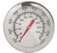 Термометр биметаллический до 500 градусов по Цельсию, фото 1