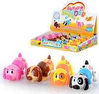 Заводная игрушка Игра Собачка Щенок заводна іграшка цуценя Собака 6614 009333, фото 1