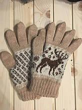 Жіночі рукавички з вовни, ангори