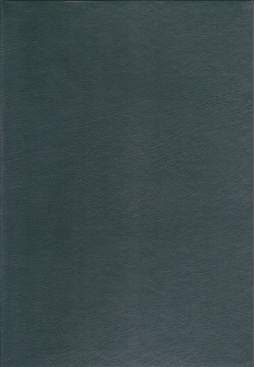 Канцелярская книга А4 200 л. тв. переплёт Бумвинил зелёная