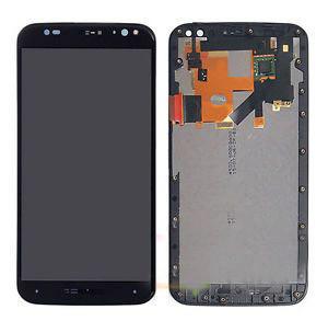 Дисплей для Motorola XT1570 Moto X Style/XT1572/XT1575 с тачскрином и рамкой черный Оригинал