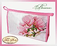 Набор для вышивки косметички бисером Веточка К-006