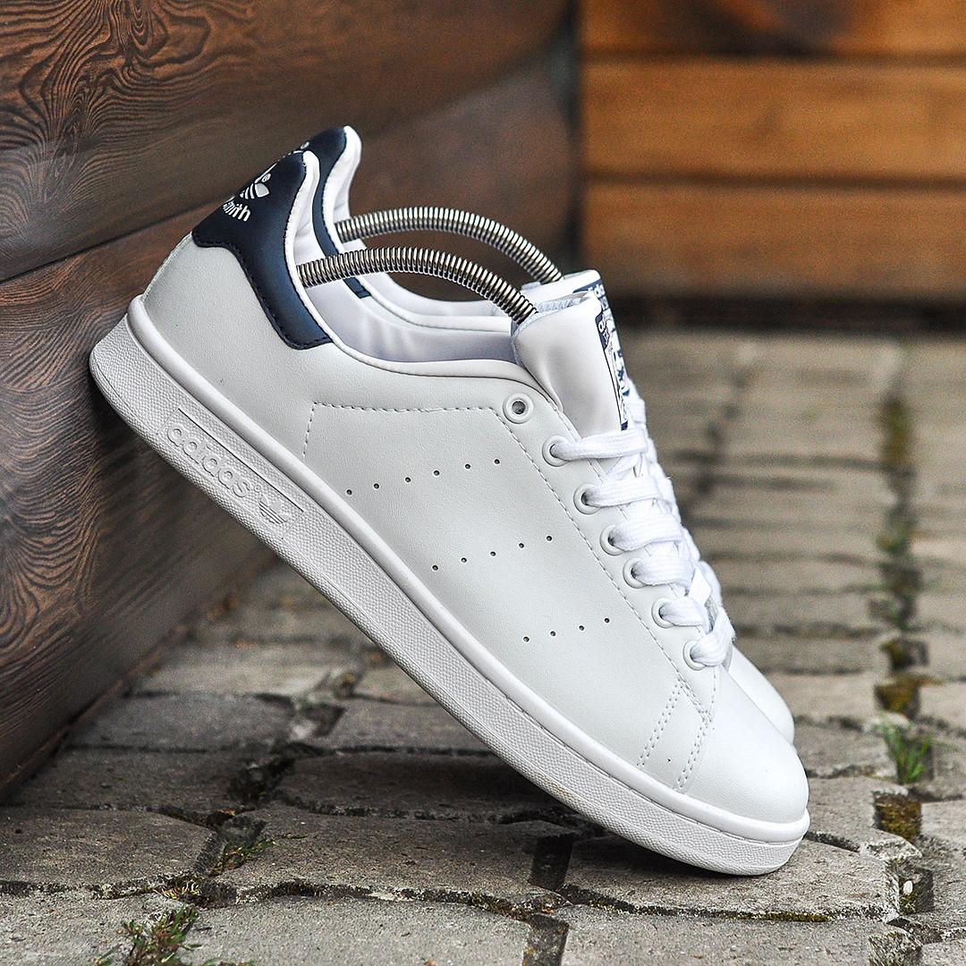 Мужские Кроссовки в стиле Adidas Stan Smith white