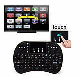 Беспроводная мини клавиатура i8 с подсветкой и тачпадом, фото 6