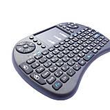 Беспроводная мини клавиатура i8 с подсветкой и тачпадом, фото 7