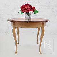 Раскладной стол ручной работы из дерева
