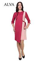 Нарядное платье с ассиметричным низом свободного покроя , фото 1