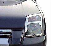 Накладки на передние фары Ford Connect (2002-2013)