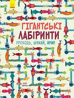 "Книга ""Гігантські лабіринти"", Агнес Баруцці   Ранок, фото 1"