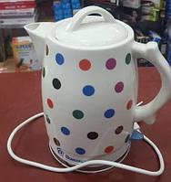 Керамический электро чайник Domotec MS 5060, фото 1