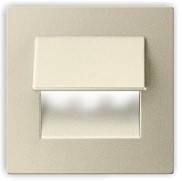 Подсветка LED декоративная LIVE, сатин, теплый белый, фото 1