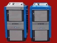 Пиролизные котлы ATMOS DC 15-100 на твердом топливе