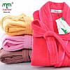 Хлопковый халат для мужчин и женщин 8 цветов
