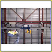 Кран мостовой однобалочный подвесной
