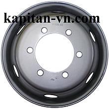 Грузовые диски 17.5 6.00 6x205 под конус, стальные диски на Mercedes, Iveco, MAN, DAF, купити диск на МАН, ДАФ