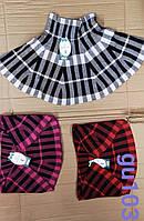 Юбки для девочек оптом, Aura via , 4/7-8/12 рр.