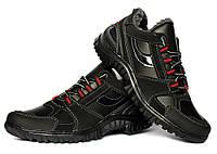 Чоловічі зимові кросівки на хутрі дуже теплі (КБ-17ч)