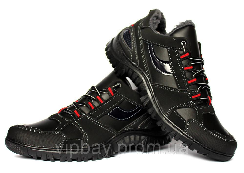Чоловічі зимові кросівки на хутрі дуже теплі (КБ-17ч)  365 грн ... 6a703f01a0049