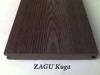 Террасная доска Zagu Kuga Шоколад