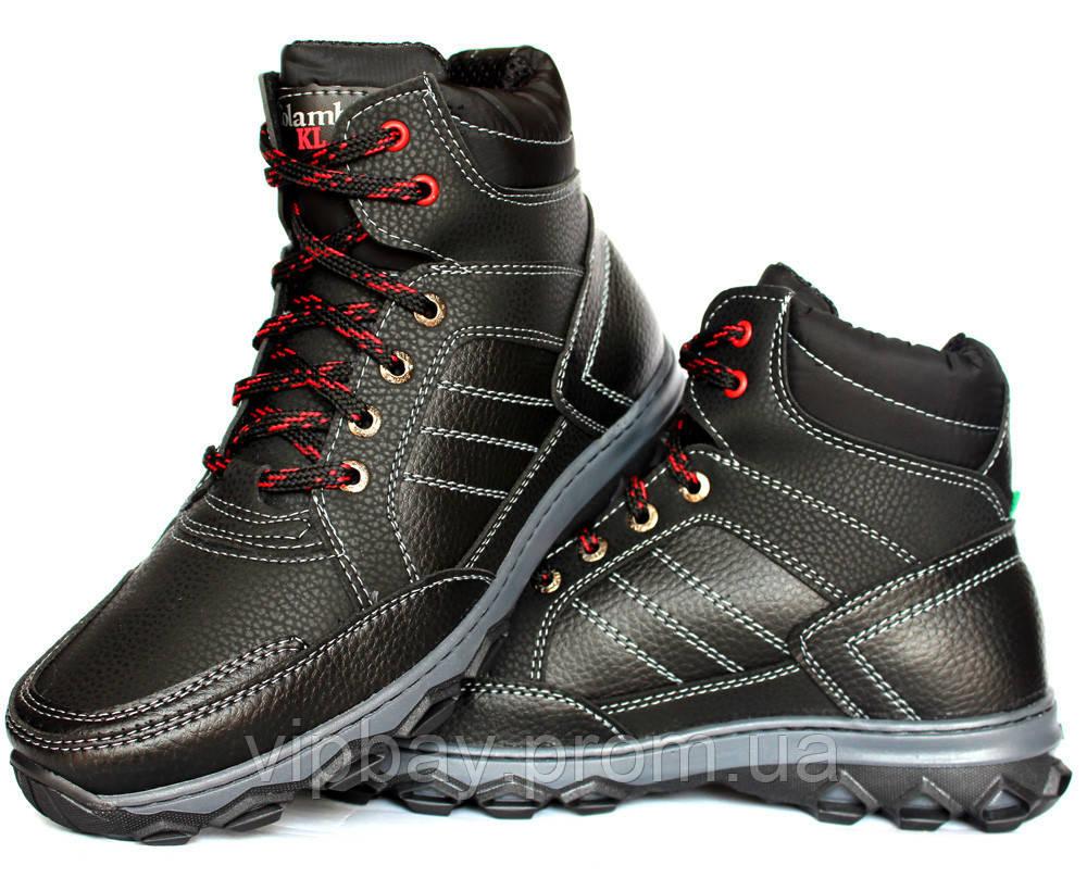 Зимові черевики чоловічі на хутрі Львівське виробництво (КЛА-12ч) 43
