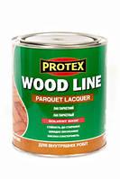 Лак поліуретановий паркетний Protex WOOD LINE глянцевий (0,7л)