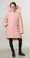 Детское зимние пальто для девочки от производителя  32-40