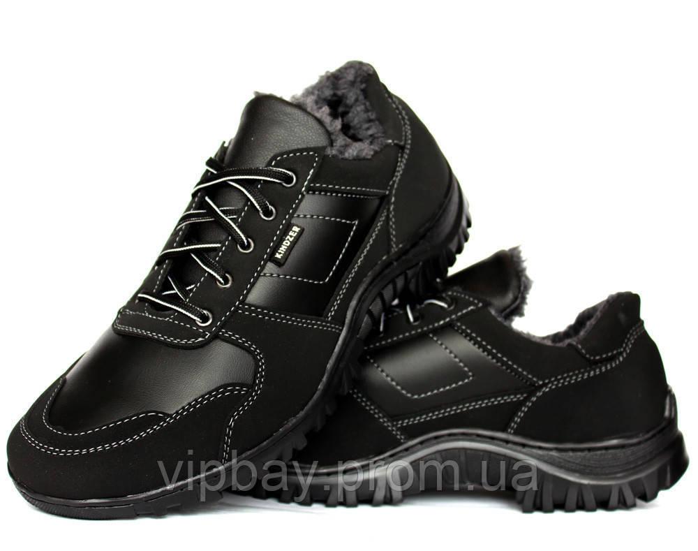 Чоловічі спортивні черевики - кросівки на хутрі (КБ-12ч)