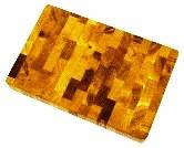 Доска разделочная торцевая прямоугольная 350х250х35мм (Украина)
