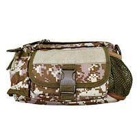 Оригинальная тактическая сумка на пояс N02226 Pixel Отличное качество Удобная сумка Розница Код: КДН3786