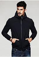 Мужская стильная куртка Softshell с капюшоном