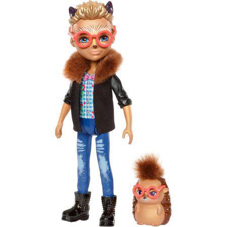 Кукла Ёж Хиксби и Поинтер Enchantimals Hixby Hedgehog 15см