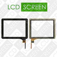 Тачскрин (touch screen, сенсорный экран) для планшета Digma IDS 10; Explay Informer 921,черный, AD-C-970024-2-FPC