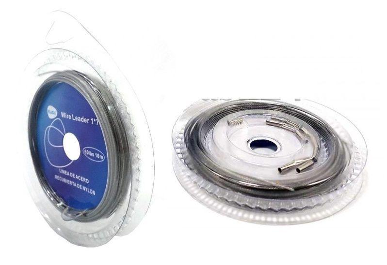 Поводковый материал Kaida Wire Leader 80lbs 10м