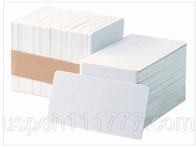 ПВХ карта заготовка для печати на струйном принтере