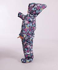 Детский зимний комбинезон-трансформер для девочки от KIKO 4549,  68-80, фото 2