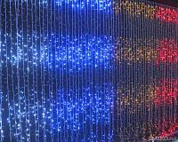 """Гирлянда Водопад 3 х 2.5 м. 560 LED. """"Световой занавес"""", """"Штора"""" (есть статический режим) Разноцветный"""