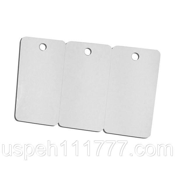 ПВХ карты заготовки 3UP для печати на струйном принтере