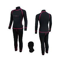 Комплект дитячої білизни Radical Amanda 104-110 Чорний з рожевою стрічкою