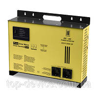 Преобразователь напряжения мощность 1800 Вт HR-PI 2000SP inverter DC-AC 24V-220V инвертор с зарядкой