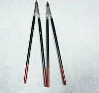 Кисть для рисования №4 темная, пони (товар при заказе от 200 грн)