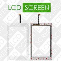 Тачскрин (touch screen, сенсорный экран) для планшета Fly Flylife Connect 7 3G 2, белый, оригинал, 830+1731+6+101, фото 1