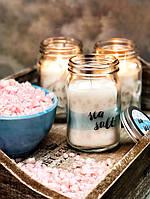 Свеча в банке с нежным ароматом морской соли , фото 1