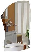 Зеркало в ванную с полкой 45х60 см