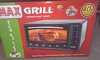 Електрична духовка Asel GRILL SH-5500 об'ємом 40 літрів Туреччина ,вбудований гриль, фото 1