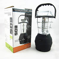 Кемпинговый динамо-фонарь на солнечной батареи +радио