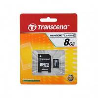 Карта памяти MicroSD 8 GB 10 кл