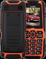 Противоударный телефон с огромной батареей! Xiaocai X6 - Мощный фонарь, FM, MP3/MP4, 2 SIM, 5000 mAh., фото 1