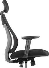 Кресло для домашнего кабинета Barsky Team Black/Grey TBG-01, фото 3